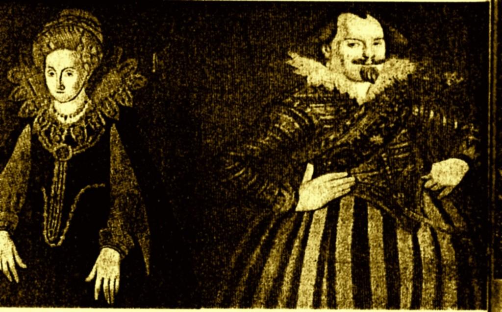 118 Graf Hans Ludwig von Gleichen Spiegelberg und Pyrmont und seine Frau Gräfin Erdmut 1600