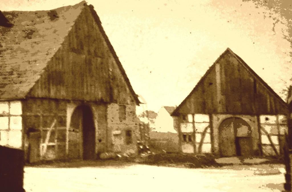 16 1967 abgerissener Sattelhof