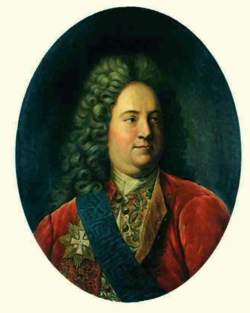 30 Vicekanzler Baron von Schaffirow, 1716