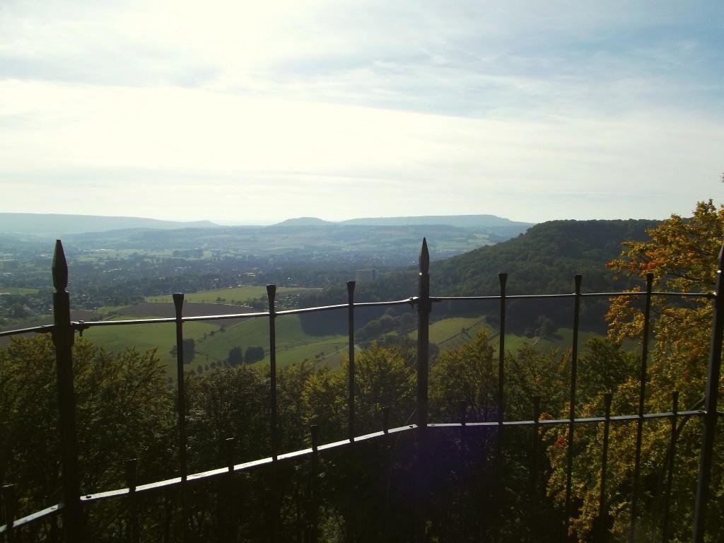 Blick vom Schellenturm über das Pyrmonter Tal
