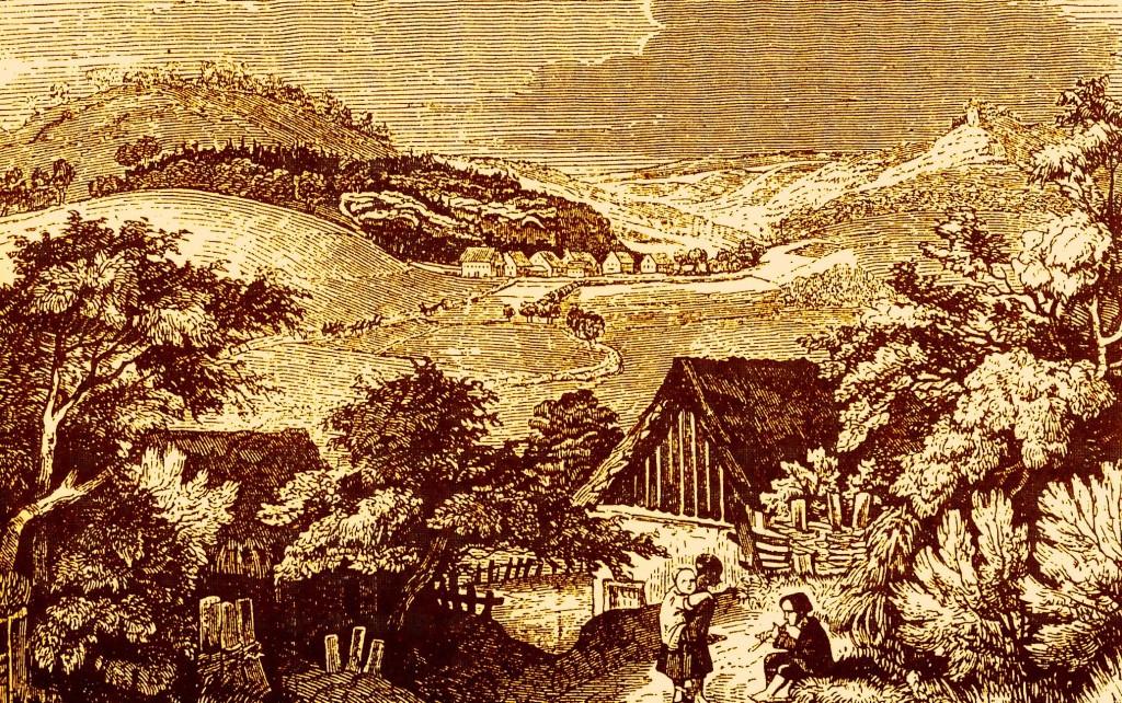 Friedensthal um 1800, Stich