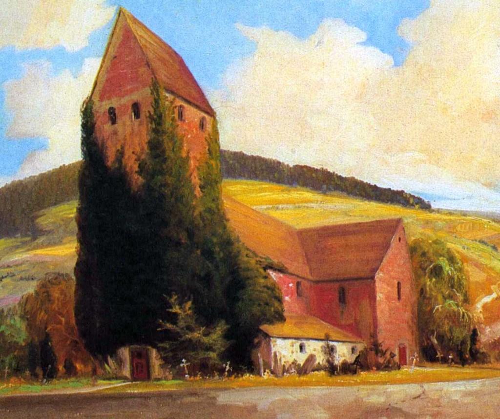 Kilianskirche, Gemälde Fritz Drewes