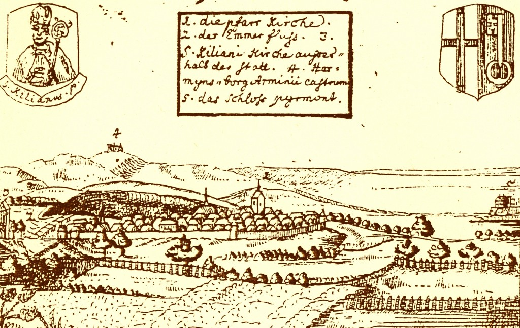 Lügde, Conrad Pyrach 1724