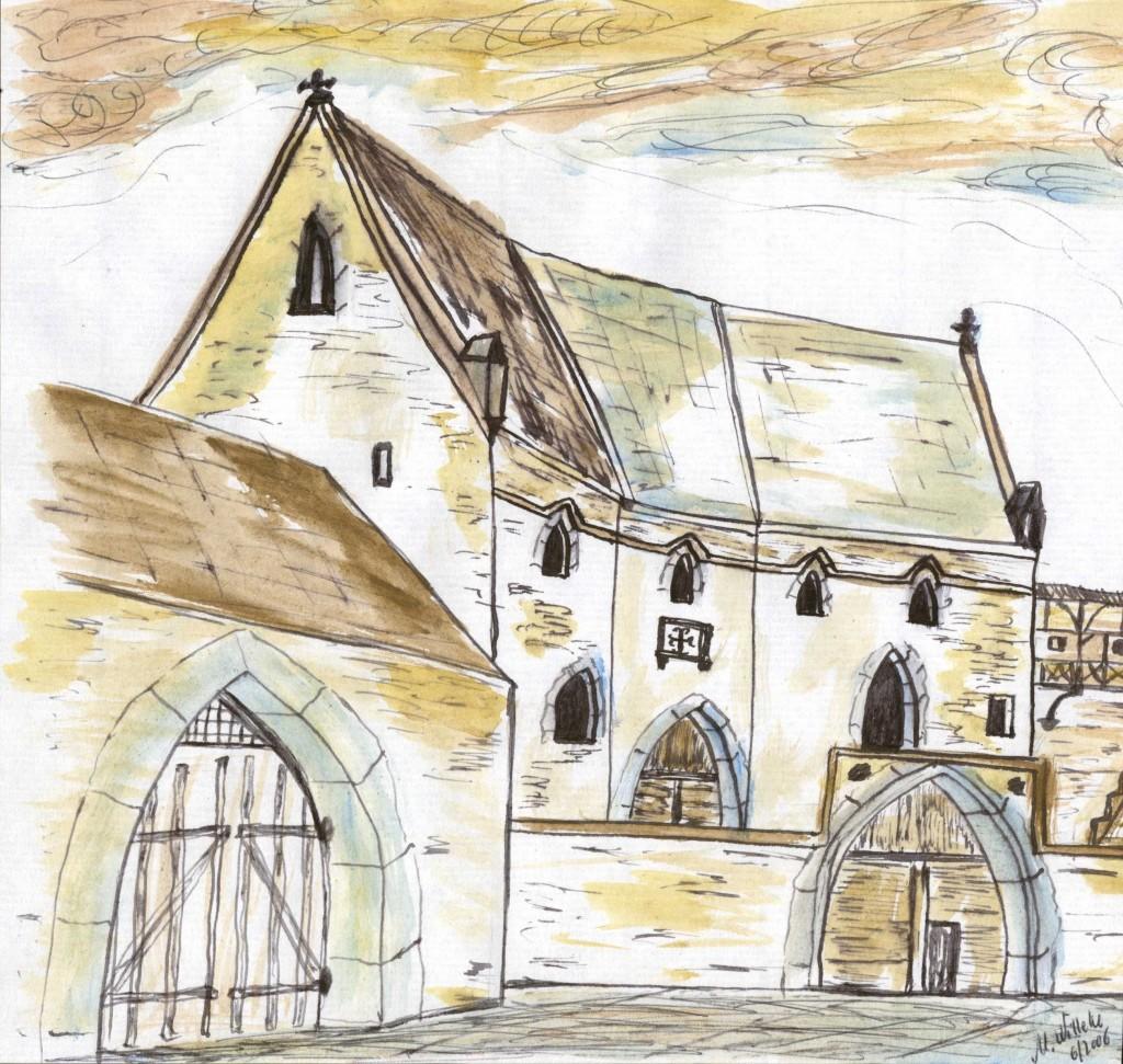 Lügde, alte Residenz der Grafen von Pyrmont am Oberen Stadttor