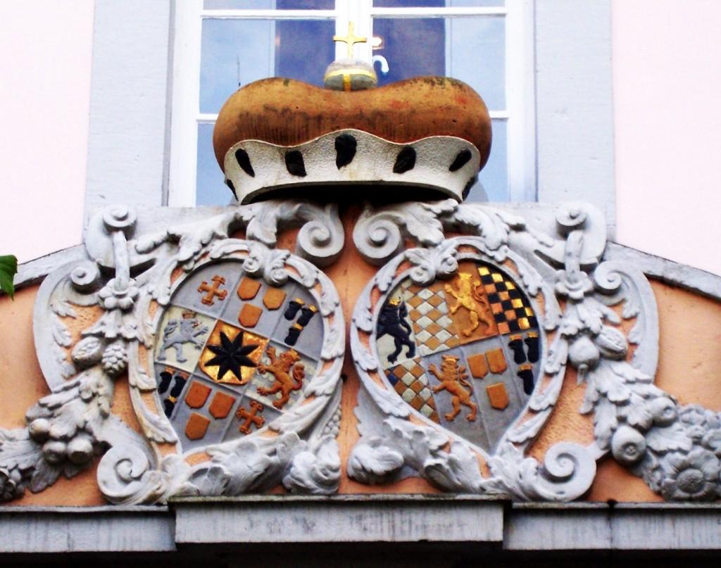 Waldeck und Pyrmont, Wappen Waldeck und Pfalz Birkenfeld