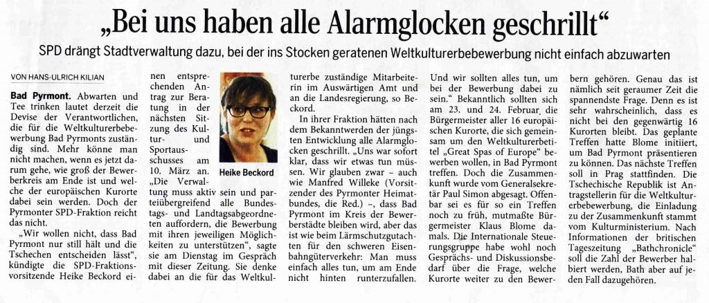 Pyrmonter Narchrichten 3. Februar 2016, 1